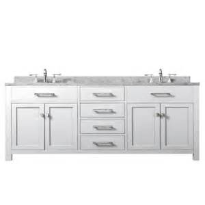 water creation 72 in vanity in modern white with