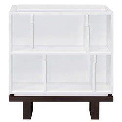 nurseryworks storytime bookcase single calvin y peeblesy