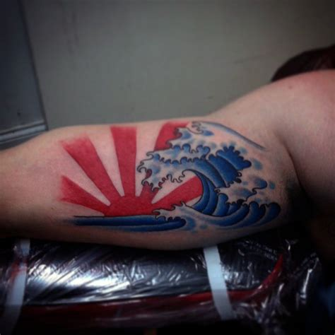 japanese sunrise tattoo designs rising sun tattoos designs ideas and mraning tattoos