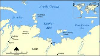 map of sea island file laptev sea map png