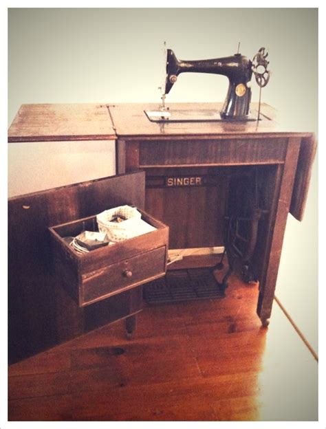 Treadle Sewing Machine Cabinet Plans Pdf Woodworking