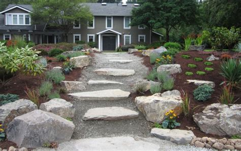 Large Rock Landscaping Ideas 25 Rock Garden Designs Landscaping Ideas For Front Yard Home And Gardens