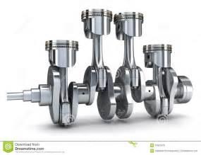 crankshaft and pistons royalty free stock image   image 27657676