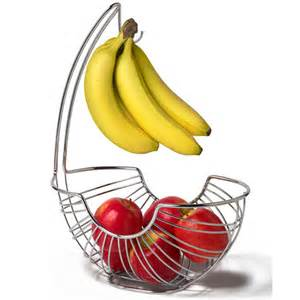 pantry works fruit basket and banana holder in bread and