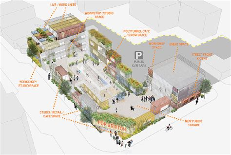 layout design course london shipping container cus to encourage community growth