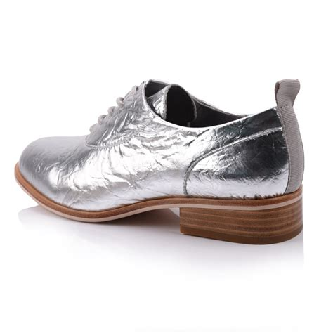 patent leather s lace up flat shoes footwear