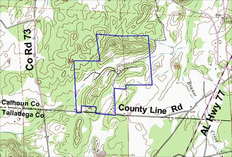 Calhoun County Alabama Property Records 249 Acres In Calhoun County Alabama