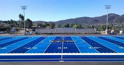 colored football fields friday field of dreams check out prep football s only two