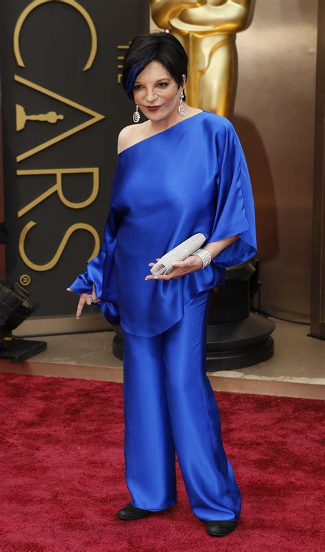 Liza Minelli Needs A New Stylist by Liza Minnelli Tried And Failed To Get In The Oscar