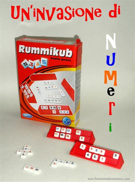 creare giochi da tavolo rummikub gioco da tavolo di matematica