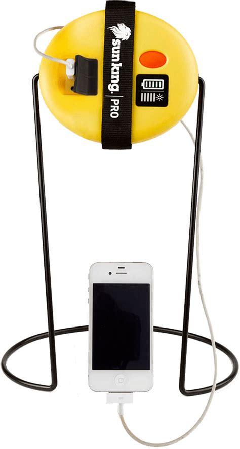 solar powered cing lights sun king pro all solar powered light and usb phone