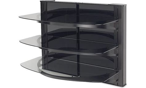 Sanus Component Shelf by Sanus Vf5023 Three Shelf Component Wall Mount At