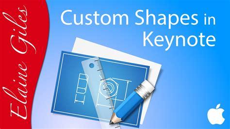 youtube tutorial keynote create custom shapes in keynote tutorial youtube