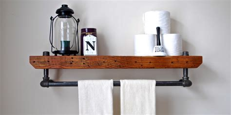 diy bathroom shelving ideas bathroom shelves beautiful and easy diy bathroom