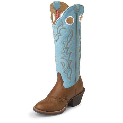 tony lama womens boots s tony lama 174 buckaroo bridle boots blue 578524