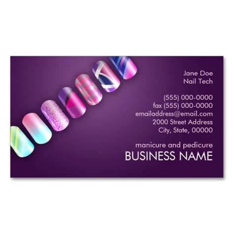 Nail Technician Business Card Template by 11 Best επαγγελματικές κάρτες Images On