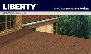 gaf liberty roll roofing membrane
