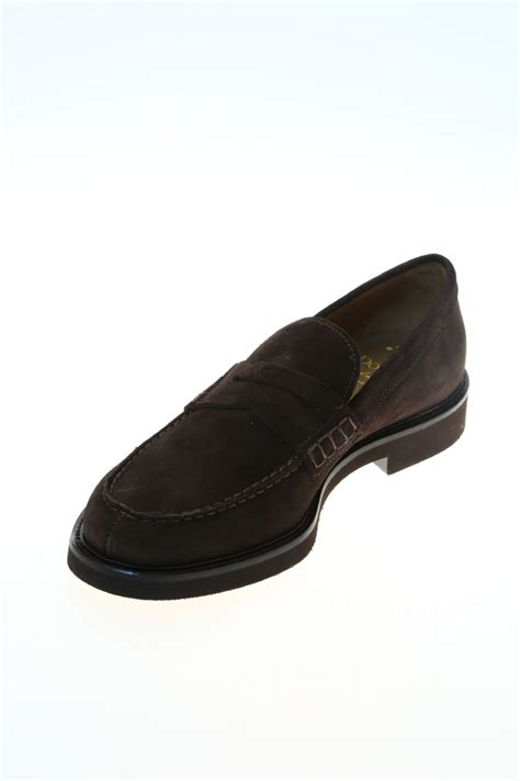 brown suede loafer suede brown suede loafer doucal s