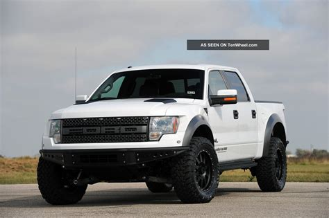 605 hp supercharged hennessey velociraptor 600 ford raptor