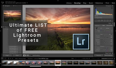 lightroom tutorials photographers ultimate list of free lightroom presets luke zeme