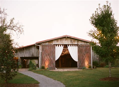 farm wedding venues south west the barn at high point farms flintstone ga rustic wedding guide