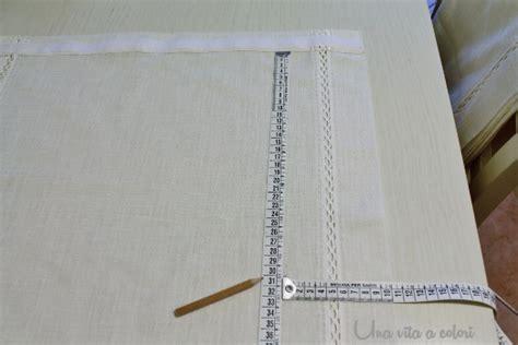 come cucire tende a pacchetto tutorial come cucire le tende a pacchetto