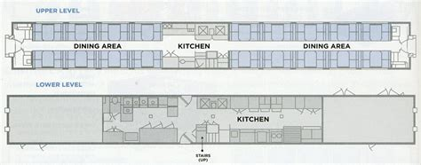 Amtrak Sleeper Car Layout by Amtrak Superliner Dining Car Layout