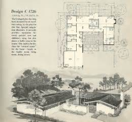Mid Century House Plans Vintage House Plans 1726 Antique Alter Ego