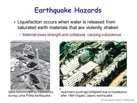 earthquake hazards chapter 5 earthquakes experiencing an earthquake
