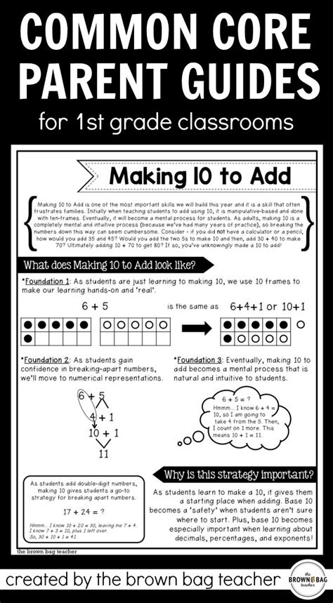 Parent Letter Explaining Common Math the 25 best math ideas on family math