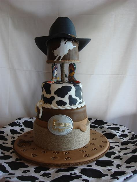 western rodeo theme grooms cake cakecentral