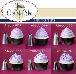 piping tips your cup of cake