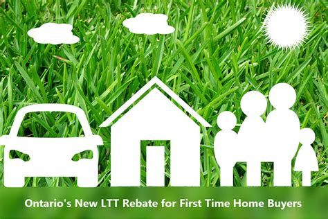 Ontario Government Programs For Time Home Buyers by Ontario S New Ltt Rebate For Time Home Buyers