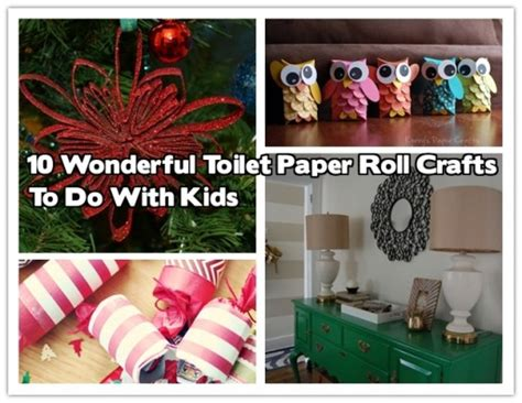 Crafts You Can Do With Paper - 10 wonderful toilet paper roll crafts to do with