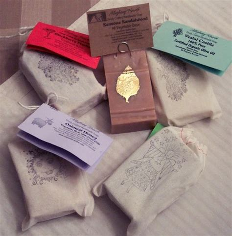 Packaging Handmade Soap - handmade soap with traditional bay rum fragrance