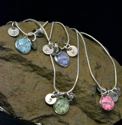 4 best friend necklaces 4 friendship necklace by
