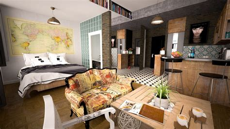 how to live in small spaces how to live large in small spaces colour it bright