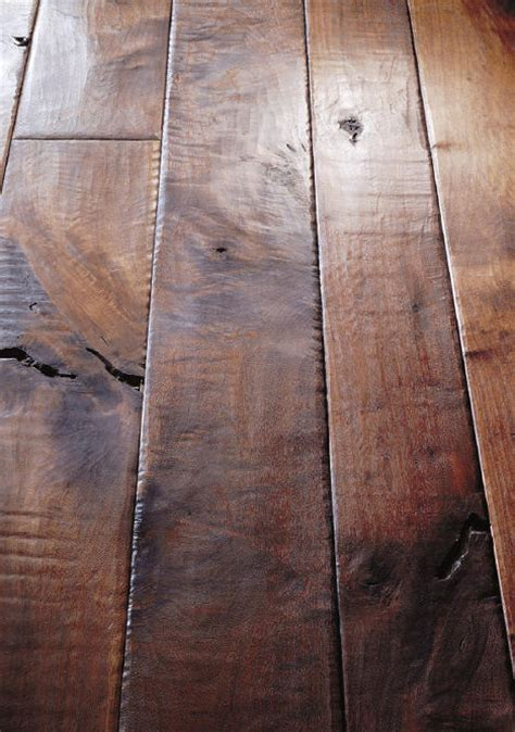 Hardwood Floor Planks Walnut Plank Floor From Birger Juell The Sculpted Plank Flooring