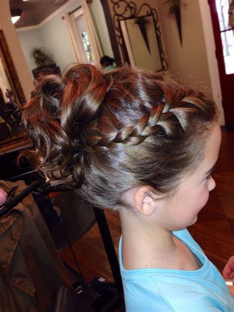 hairdos for girl for father daughter dance little girl updo flowergirl daddy daughter dance
