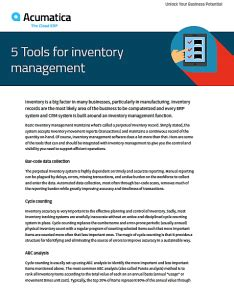 Tools And Techniques Of Inventory Management Mba by 5 Tools For Inventory Management