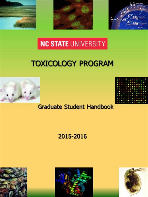 Nc State Mba Requirements by Graduate Student Association Tgsa Toxicology Program