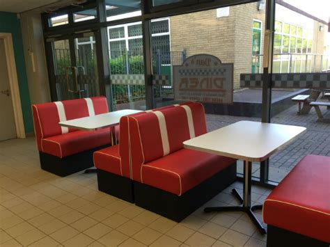 american diner bench seating retro seating booths and retro chairs and diner furniture