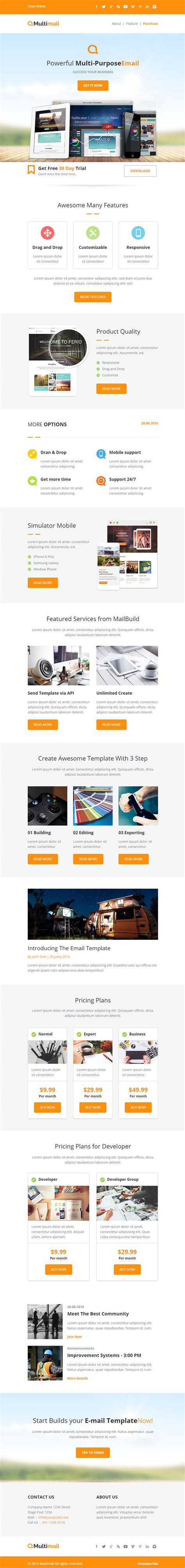html5 email template 28 html5 responsive email template 25 free html5 email