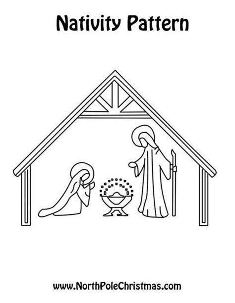 large printable nativity scene outdoor nativity scene cut out patterns outdoor ideas