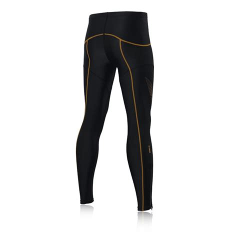 muscle pattern running tights asics top impact line inner muscle compression running