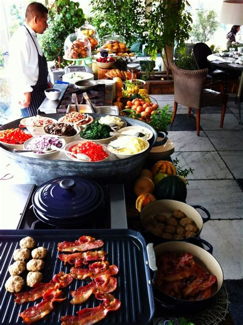 soho house la brunch food drink brunch buffet