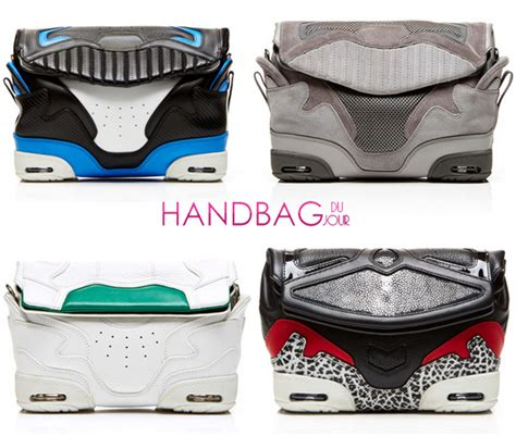 sneaker bag stylish and sporty the sneaker bag by wang xx