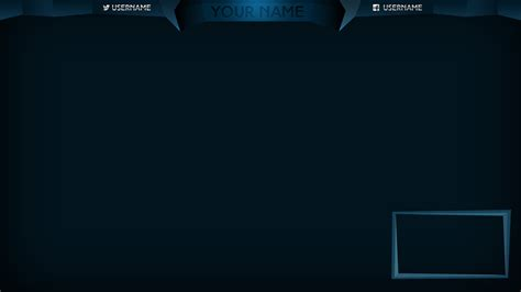 12 stream overlay psd images blank twitch stream overlay