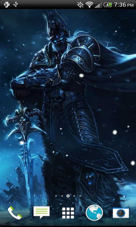 wallpaper engine lich king free lich king livewallpaper hd apk download for android