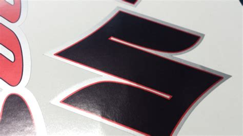 Suzuki Bandit Decals Suzuki Bandit 600s 3 Colour Decals Stickers Black